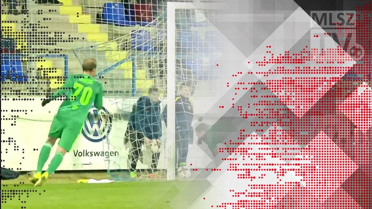 Wils Stef gólja a Mezőkövesd Zsóry FC - Swietelsky Haladás mérkőzésen