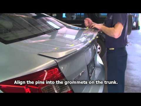 Episode #222 - 9thGen Honda Civic Deck Lid Spoiler Installation