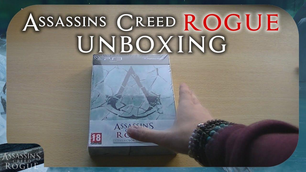 UNBOXING Assassins Creed: Rogue [Collectors Edition PS3 ...