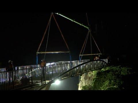 ANZAC Memorial Bridge Construction 2015