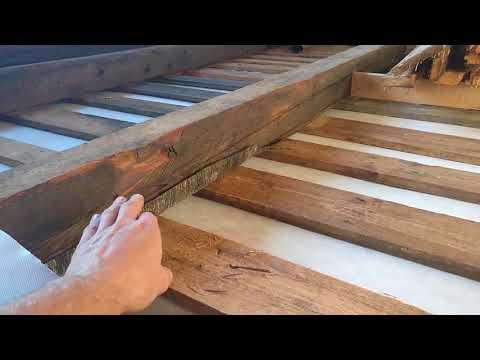 Как утеплять деревянные полы в частном доме видео
