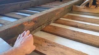 видео Теплоизоляция пола деревянного дома