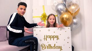 День Рождения моего брата ПОДАРКИ для Саши и Насти My little Nastya
