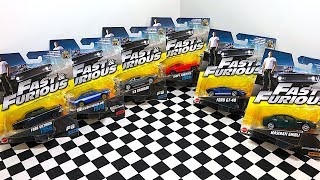 Fast And Furious Cars Mattel Toy Series Unboxing!