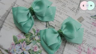 Laço De Fita 🎀 Ribbon Bow Tutorial #39 🎀 DIY by Elysia Handmade