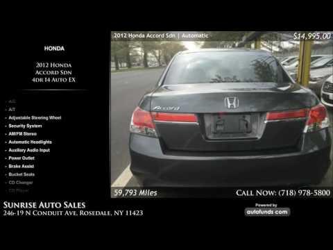 Used 2012 Honda Accord Sdn | Sunrise Auto Sales, Rosedale, NY