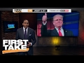 Steve Harvey Shouldn't Get Backlash For Trump Meeting | Final Take | First Take | January 25, 2017