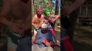 OMG.JOKER VS MONSTER.Dednahype show #spiderman