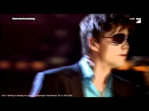 A-ha - Nothing Is Keeping You Here - Turmspringen Total Munich, 2009 [HD]