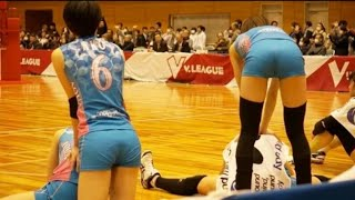 SEXY!! KUROBE || Women Volleyball Japan...