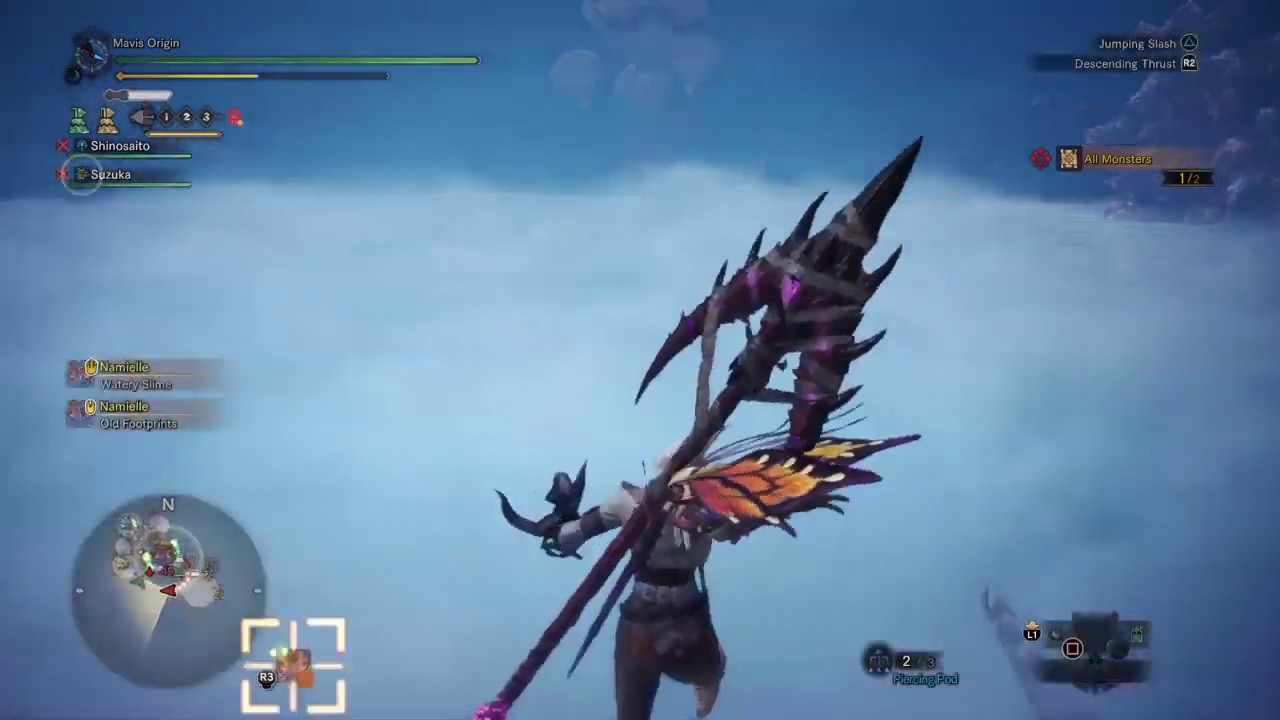 Monster Hunter World Iceborne Event Quest A Shocking Climax Unity Symbol Youtube