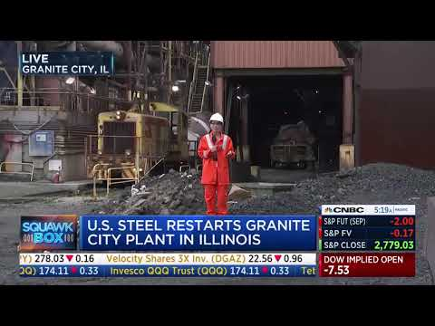 CNBC: U.S. Steel Reopens A Closed Facility Thanks To Trump's Trade Policy