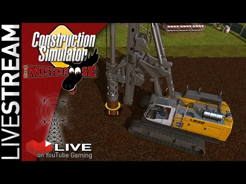 Construction Simulator 2015 - Playing with our New Big Crane