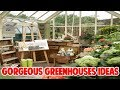 Gorgeous Greenhouses in Country Settings