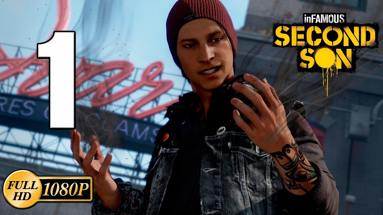 infamous second son ps4 walkthrough parte 1 historia 1