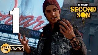 inFAMOUS Second Son PS4 Walkthrough Parte 1 Historia 1 hora Gameplay Español Guia 1080p