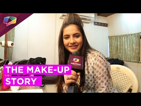 This is how Chakor does her Make-up