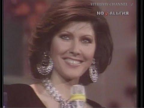 """Claudia Mori  San-Remo '85   """"Chiudi la porta""""."""