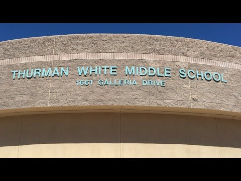 Thurman White Middle School stabbing in Henderson NV