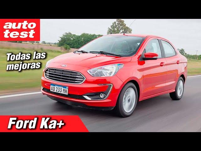 Prueba: Ford Ka+ 1.5 AT