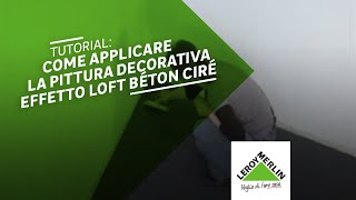 Come Applicare La Pittura Decorativa Natureva Leroy Merlin
