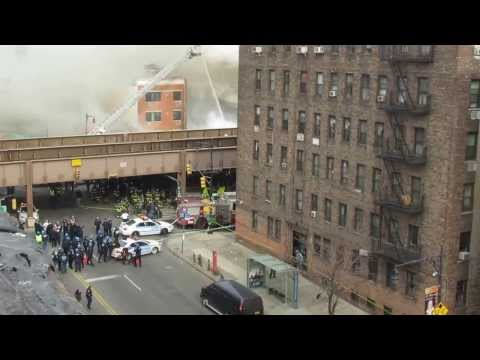 East Harlem Double Building Explosion & Collapse - FDNY 10-60 Code 1&2 5th Alarm Manhattan Box 1406