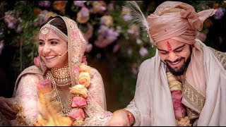 Virat kohli and Anushka shrma marriage ceremony