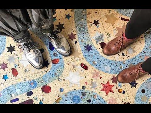 The Creating Of Terrazzo Floors For Dame Zandra Rhodes