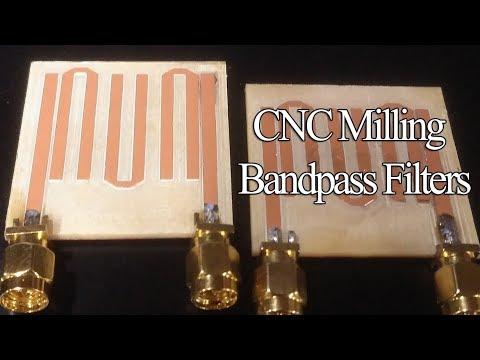 CNC Milling Radio Microstrip Filters