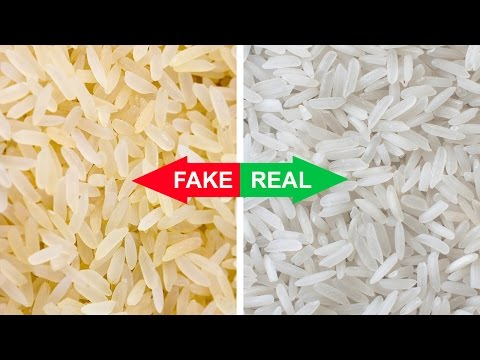 Is Your Rice Fake? Find Out Right Now! | Natural Cures