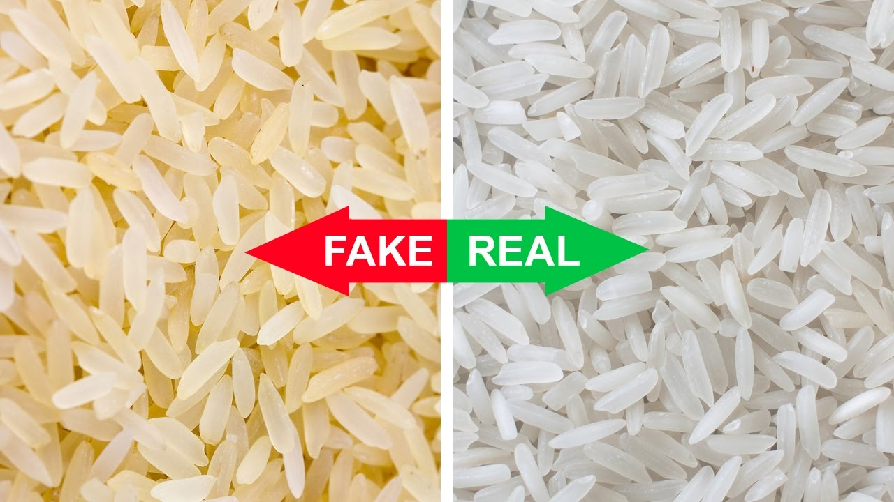 Is Your Rice Fake? Find Out Right Now!