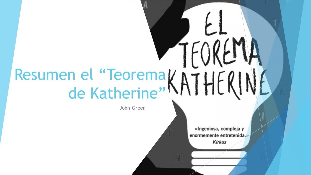 O Teorema De Katherine John Green Pdf