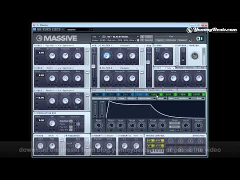 Beyoncé Knowles - Back To Black (ft André 3000), Synth for Massive [YB#20]
