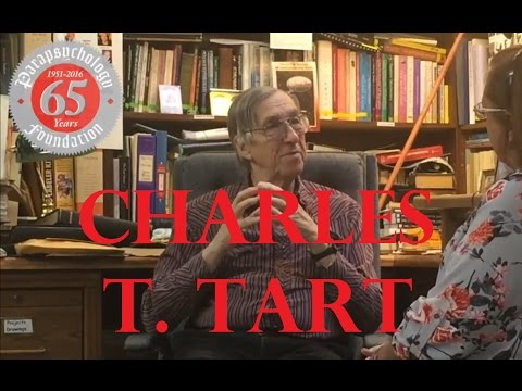 Dr. Charles T. Tart 65th  Anniversary  interview