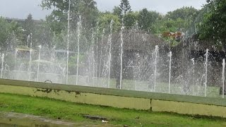 Dancing Fountain At Science City Kolkata (Calcutta), West Bengal, India HD Video