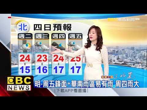 氣象時間 1090317 早安氣象 東森新聞