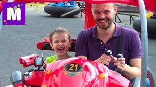 VLOG Парк аттракционов Одесса Лунапарк машинки квадроциклы Amusement Park Lunapark Odessa