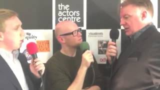 Actor and Chair of the Actors Centre Paul Clayton