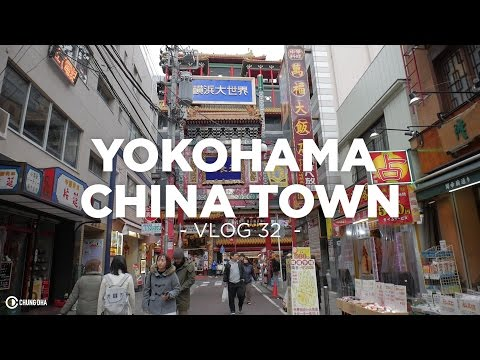 Yokohama China Town in Japan // Vlog 32 // Chung Dha
