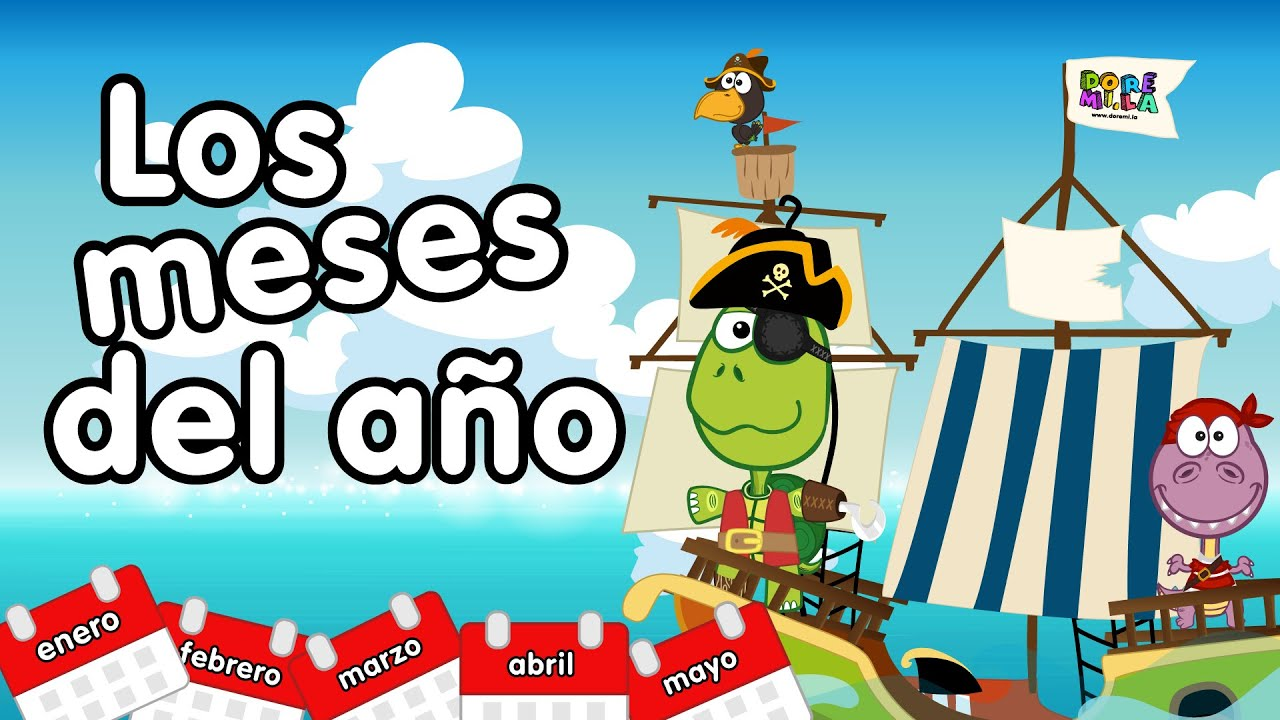 Well-known Meses del año en inglés - Canciones Infantiles - YouTube IF45