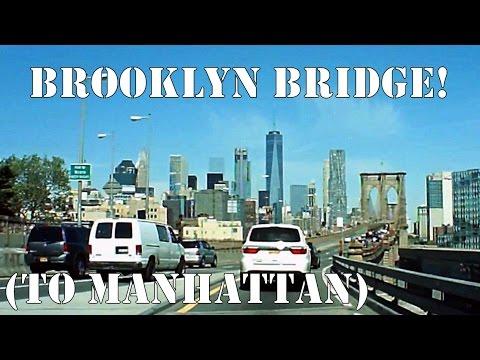 Driving Over The Brooklyn Bridge (Into Manhattan)