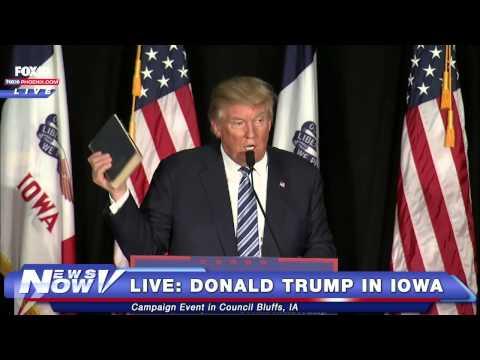 FNN: FULL Donald Trump in Council Bluffs, IA