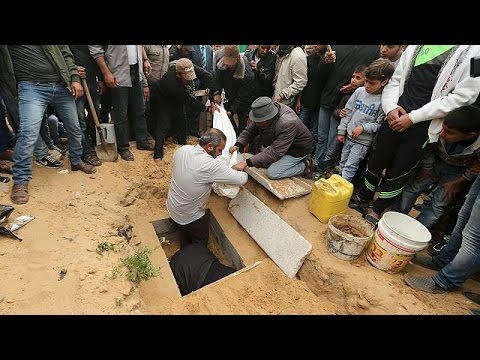 Two Palestinian children in Gaza 'killed by Israeli airstrike'