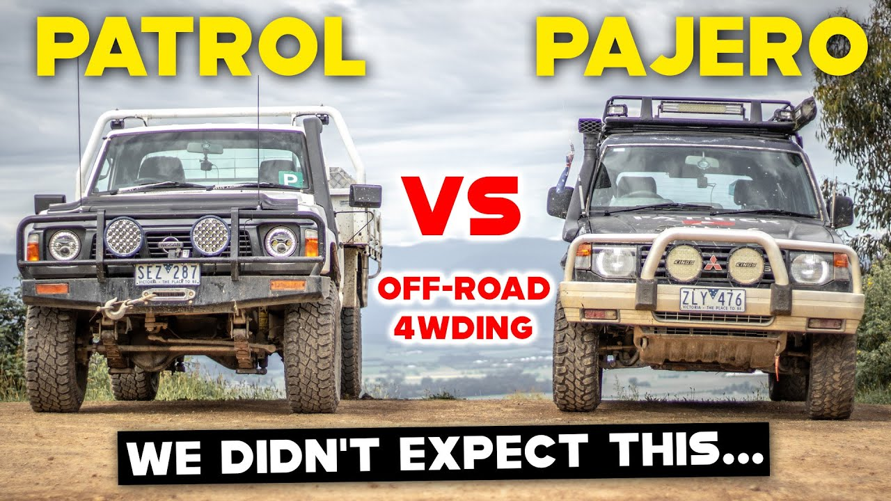 Pajero OUTDRIVES Patrol | 5KM 4X4 CHALLENGE