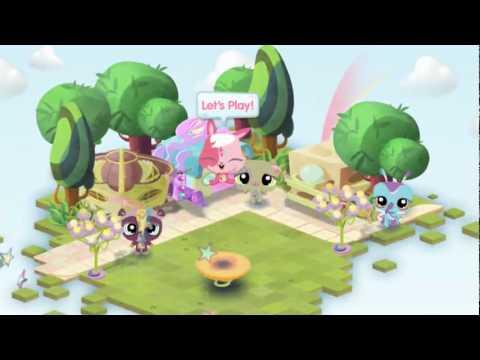 Littlest Pet Shop Online Official Gameplay Trailer