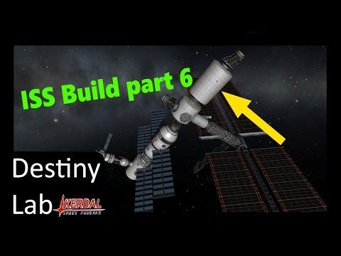 ISS build part 6: Destiny Lab (and Space Shuttle crash)