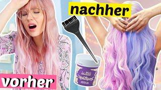Ich brauche eine VERÄNDERUNG! 🌈 Haare lila und rosa färben | ViktoriaSarina