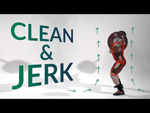 CLEAN & JERK  / weightlifting & crossfit