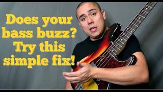 Noisy Bass Guitar- Simple Fix