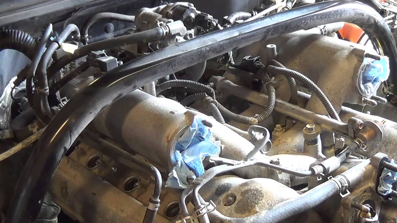 Suzuki Truck V6: Replace timing tensioner -Part 2 of 5 ...